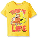 Curious George Boys Toddler Boys Short Sleeve Graphic T-Shirt