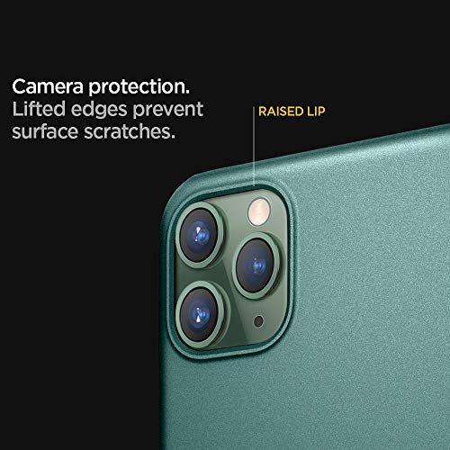 Spigen Thin Fit designed for iPhone 11 PRO case/cover - Midnight Green