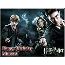"Single Source Party Supplies - Harry Potter Cake Edible Icing Image #2 - 8.0"" x - 10.5"" Rectangular"