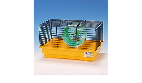 CTC de Trade | hámster Jaulas exterior tamaño 40 x 25,5 x 22 Ratones jaula hámster adolescente plástico animales pequeños jaula con accesorios: Amazon.es: ...