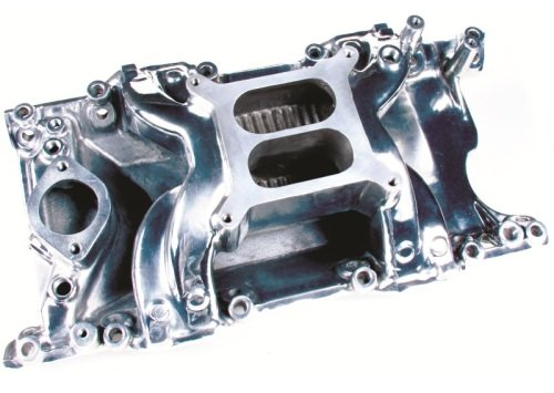 Professional Products 55025 Crosswind Polished Manifold for Small Block Mopar - Crosswind Manifold Satin