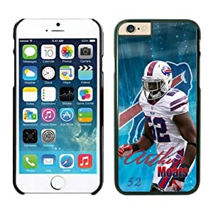 Buffalo Bills Arthur Moats Case For iPhone 6 Plus Black 5.5 inches