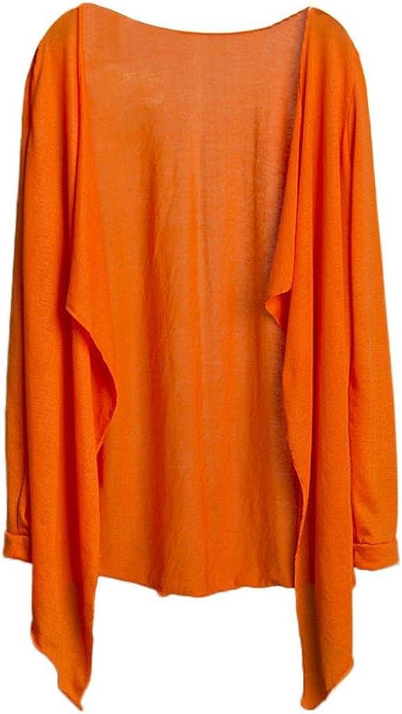 Amlaiworld Donna Cardigan,estive Lungo Cime Moda Protezione Solare Abbigliamento