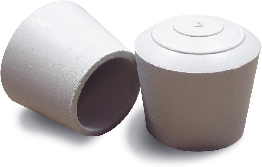 Embout entrant rond pour pied de chaise DIAM/ÈTRE EXT/ÉRIEUR 16 mm avec semelle feutre anti-bruit et anti-rayure Ajile/® Lot de 4 pi/èces