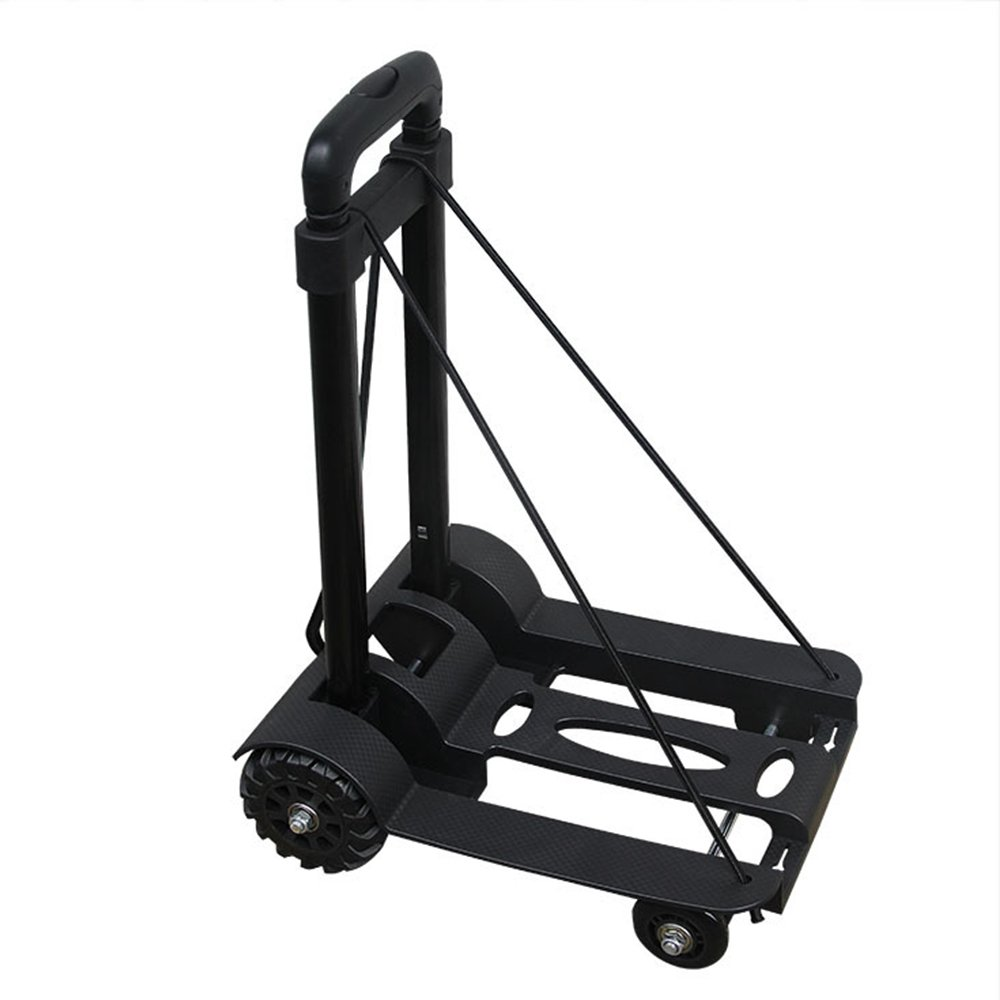Boshen Heavy Duty Folding Luggage Cart Dolly Hand Flatbed Truck Trolley Max 170 lbs Capacity by Boshen