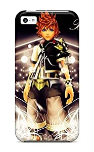 Flexible Tpu Back Case Cover For Iphone 5c - Kingdom Hearts Video Game Other