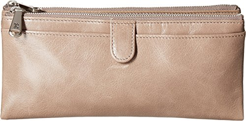 Hobo Womens Leather Vintage Taylor Clutch Wallet (Ash) by HOBO