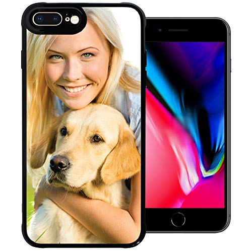 PixCase i8 Plus / i7 Plus (5.5 inch) - Picture Frame Case - Compatible with Apple iPhone 8 and 7 Plus - DIY - Insert Your Own Photos or Create Custom Designs Online - Change Anytime - Shock Absorbing