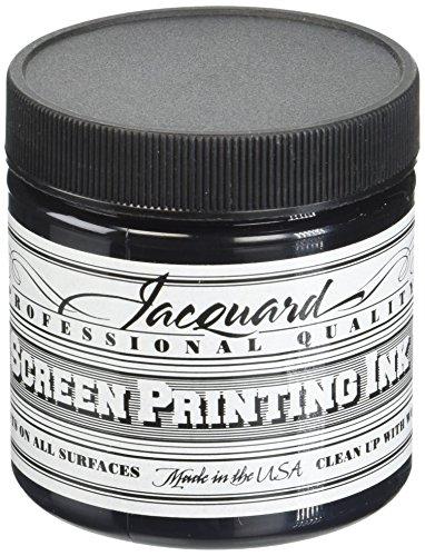 Jacquard JAC-JSI1117 Screen Printing Ink 4 oz Black from Jacquard