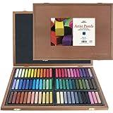 Pro Art Square Artist Pastel Set, 72 Assorted Colors Wood Box