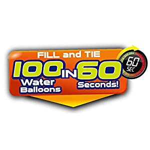 Bunch O Balloons Instant Water Balloons – Blue (3 bunches – 100 Total Water Balloons)