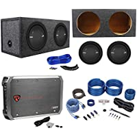 2 Polk Audio MM 1242 DVC 12 2520w Subwoofers+Sealed Box+Mono Amplifier+Amp Kit