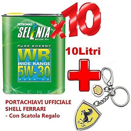 10 litros de Aceite de lubricante Petronas selenia Pure ...