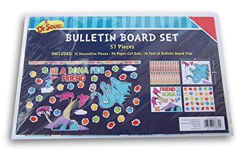 Bulletin Boards Dr Seuss - Dr. Seuss Horton Hears a Who Reading Go Bulletin Board Decor Set - 57 Pieces