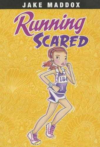 (Running Scared (Jake Maddox Girl Sports Stories))