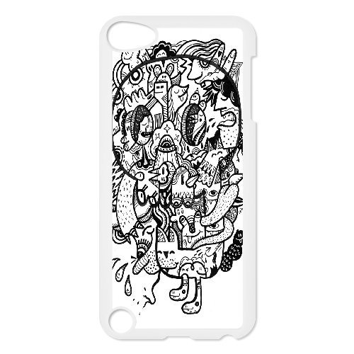 Old Skull Ipod Touch 5 Case, [White]