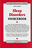 Sleep Disorders Sourcebook, , 0780810848