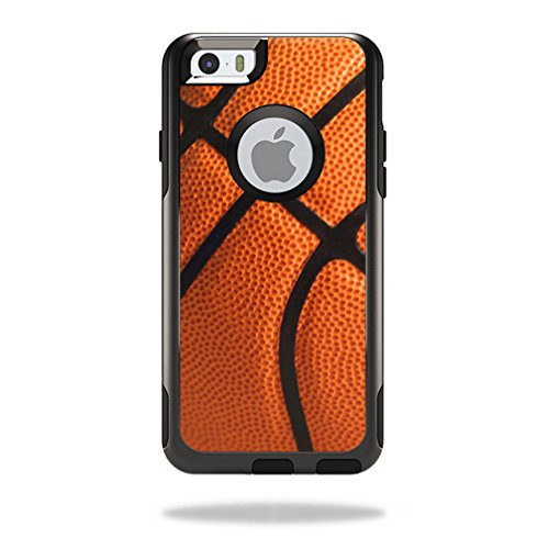 MightySkins Protective Vinyl Skin Decal Cover for OtterBox Commuter iPhone 6/6S Plus Plus Case Cover Sticker Skins - Iphone Neon Orange Case 6 Plus