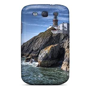 DaMMeke ZzaGKNv968pppaU Protective Case For Galaxy S3(superb Lighthouse On A Cliff Hdr)