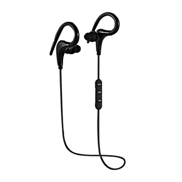 Laurelmartina Auriculares inalámbricos BT-O1 Sport Bluetooth SweatProof Auriculares con micrófono de Alta fidelidad Auriculares Bluetooth Auriculares para ...