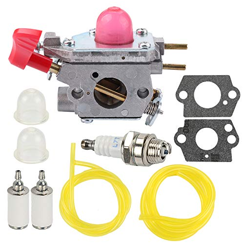 Hilom Carburetor for Poulan VS-2 BVM200FE Leaf Blower Zama C1U-W43 Craftsman Weedeater Poulan Trimmer Poulan# 545081857 with Tune Up Kits (Sears Leaf Blower Parts)