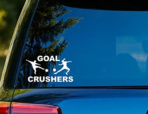 T1197 Soccer Goal Crushers Decal Sticker - 4.00