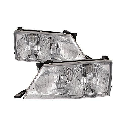 HEADLIGHTSDEPOT Compatible with Toyota Avalon Halogen Type Headlights Set New Headlamps Pair