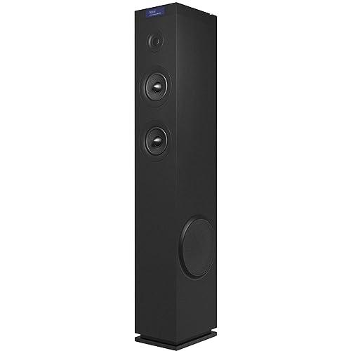 Energy Sistem Tower 8 g2 Black Sistema de Sonido en Torre 120 W USB microSD FM Entrada óptica LCD Display Bluetooth Negro