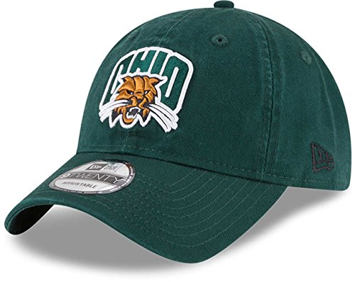 Ohio Bobcats New Era 9Twenty Core Adjustable (Ohio University Bobcats Logo)
