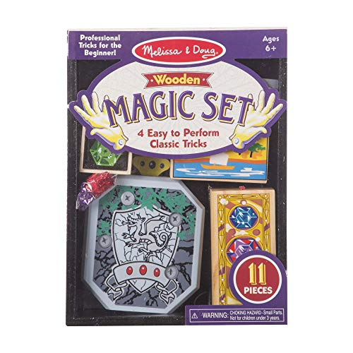 Melissa & Doug Discovery Magic Set With 4 Classic Tricks, Solid-Wood Construction - http://coolthings.us