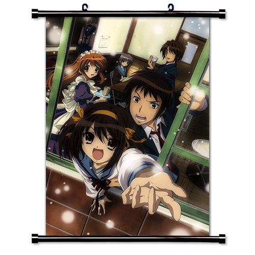 (The Melancholy of Haruhi Suzumiya Anime Wall Scroll Poster (32 x 44) Inches)