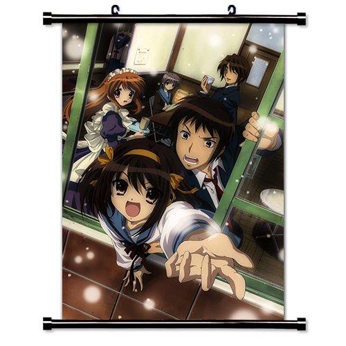(The Melancholy of Haruhi Suzumiya Anime Wall Scroll Poster (32 x 44))