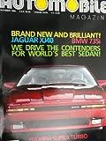 1987 Toyota Supra Turbo / BMW 7 Series / Jaguar XJ6 / Pontiac Fiero GT Magazine Article