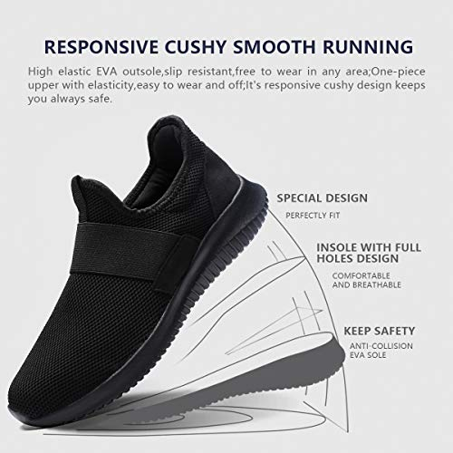 best loved 08f2d f0aee low-cost La Moster Men s Athletic Running Shoes Fashion Sneakers Casual  Walking Shoes for Men