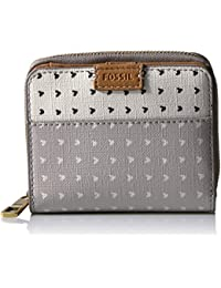 Fossil Emma Rfid Mini Multifunction-grey/white Wallet