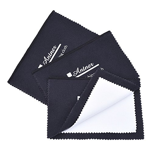Antner 3 Pack Polishing Cloth for