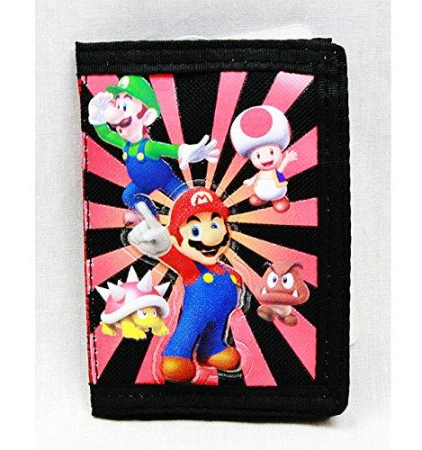 Nintendo Super Mario Tri fold Wallet