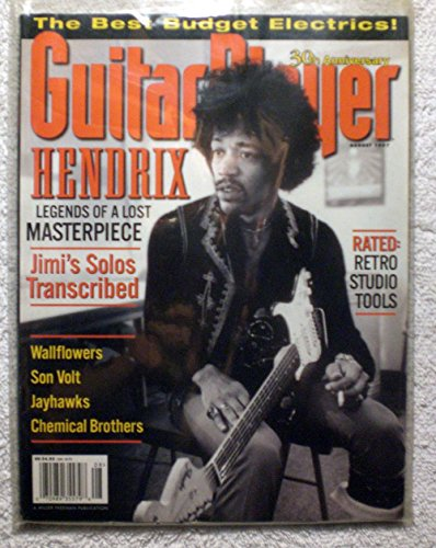 Jimi Hendrix - Guitar Player Magazine - August 1997 - Wallflowers, Chemical Brothers Articles