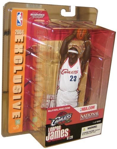 Mcfarlane NBA Basketball Lebron James (National Exclusive) Action Figure by Unknown by Unknown