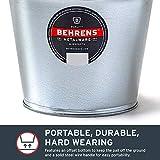 Behrens 1205GS Galvanized Steel Utility Pail, 5