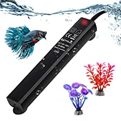 ★Information: Suitable for all shapes and materials fish tanks, whether it is glass or plastic, all can be used. Dedicated designed for small and mini sized aquarium under 5 gallons, intelligent temperature regulate, very easy to use. Suitabl...