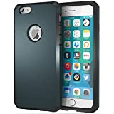 iPhone 6 / 6s Case, ImpactStrong Heavy Duty Dual Layer Protection Cover Heavy Duty Case for Apple iPhone 6 / 6s (Gun Black)