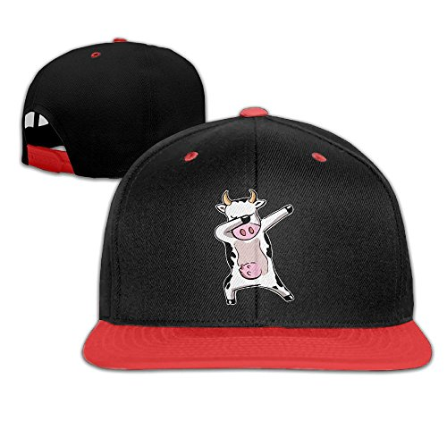 y Dabbing Cow Farmer Gift Customized Newest Baseball Hat for Toddler ()
