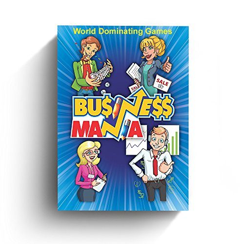 Business Mania Card Game - Card Game About Building Your Business and Crushing Competition -