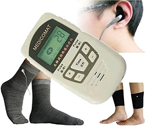 Foot and Ankle Pain Treatment Medicomat-10SJ Foot Pain Symptom Checker Chronic Ankle Sprain (L - Large Sock) by Medicomat