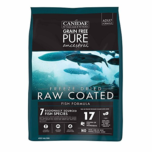 Canidae Fish Food - Canidae Pure Ancestral Raw Coated Salmon Dog Food 20Lb