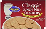 HERTAGE MILL CRACKER LUNCH MLK, 12.3 OZ