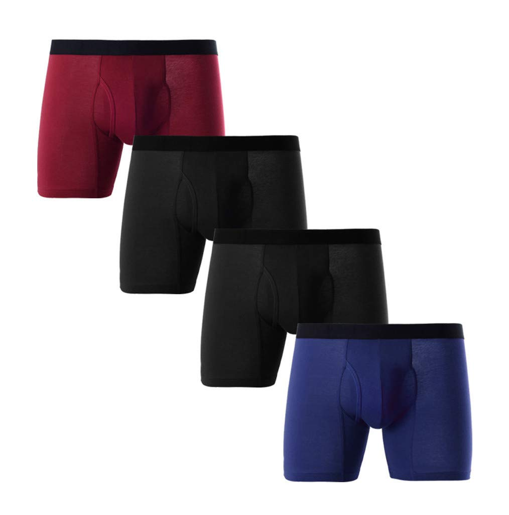 Donci Pants Men's Sport Performance Climalite Boxer Brief Underwear (2 Pack) by Donci Pants