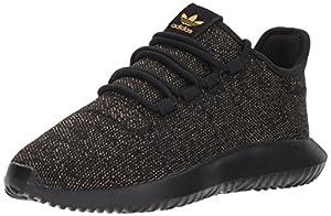 adidas Originals Kids' Tubular Shadow J Sneaker, Core Black/Core Black/Core Black, 3.5 M US Big Kid