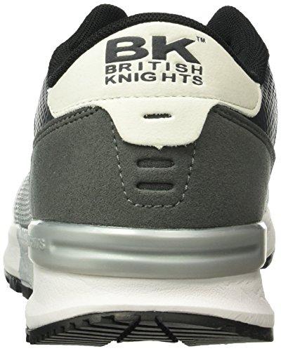 British Knights Impact - Zapatillas Hombre Gris